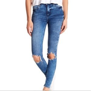 🔥 Free People Ripped Jeans NWT